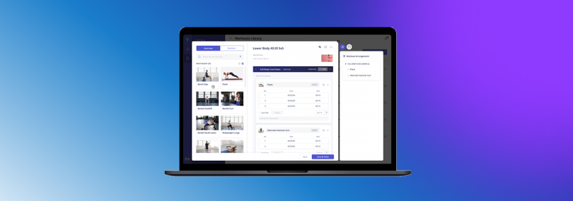 New Workout Builder is Powerful and Lightning Fast